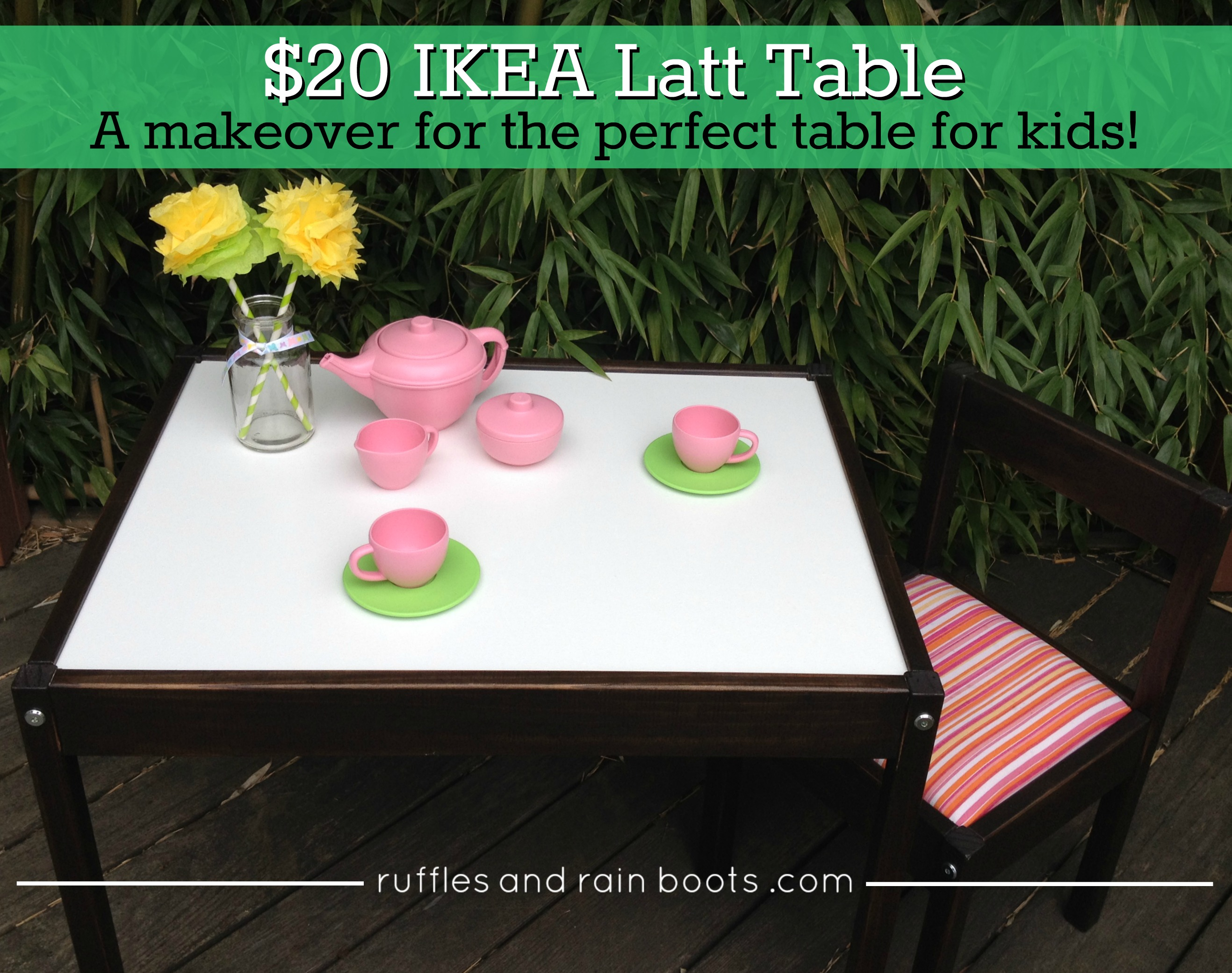 Ikea Latt Table Hack Art and Craft Table for Kids