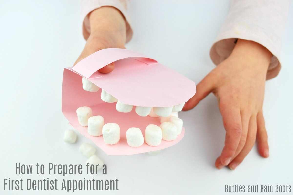 How to prepare for a first dentist visit