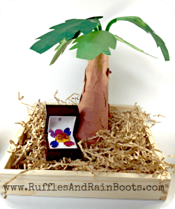 Palm Tree Craft for Kids