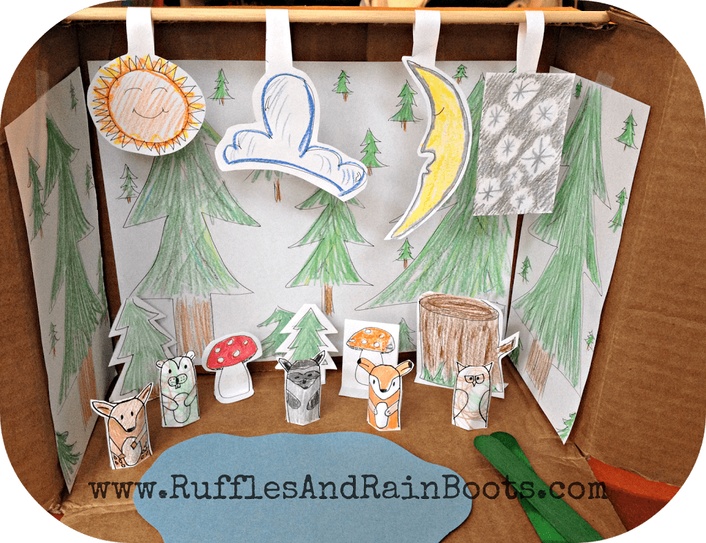 This is an awesome pic of an awesome craft on RufflesAndRainBoots.com