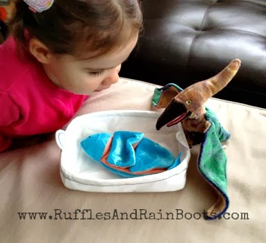 This is a picture of the awesome fun we're having at RufflesAndRainBoots.com.