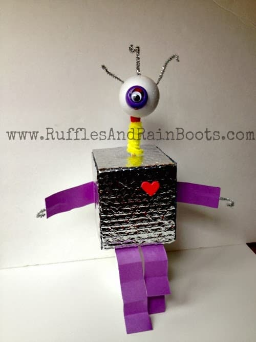 This is a picture of an awesome craft at RufflesAndRainBoots.com,