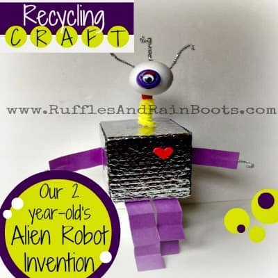 This is a picture of an awesome craft at RufflesAndRainBoots.com.