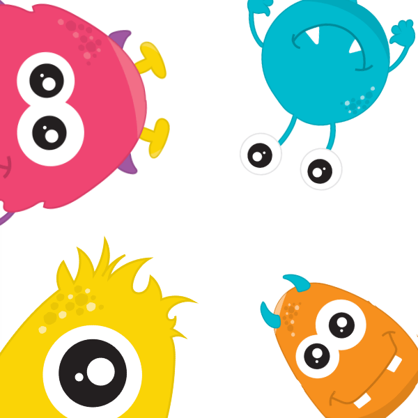 Monster theme learn and play