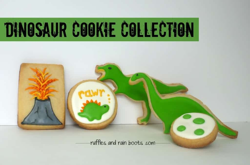 Dinosaur-cookie-party