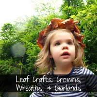 Leaf Crown Tutorial By Ruffles and Rain Boots