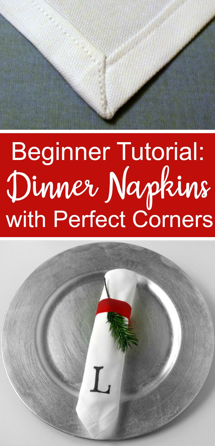 Cloth Napkin Tutorial