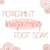 Peppermint Invigorating Foot Soak with OVAL 500s