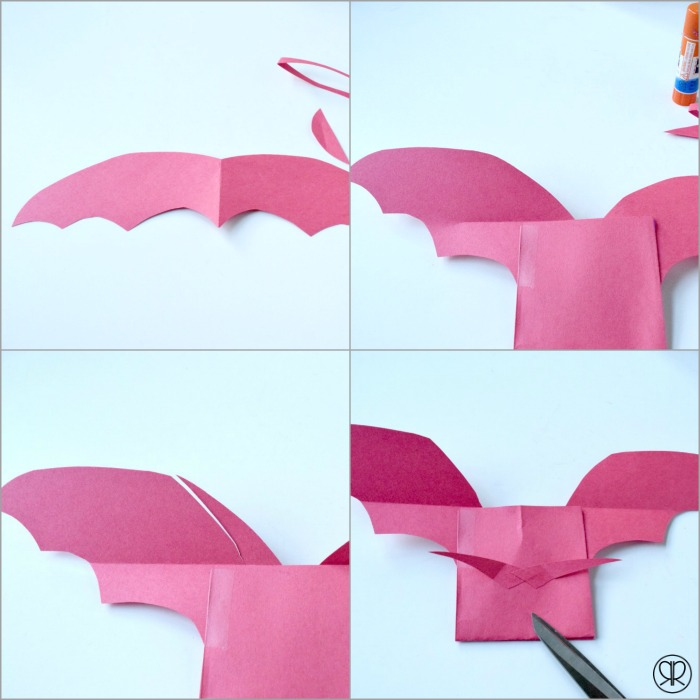 how to make dragon wings