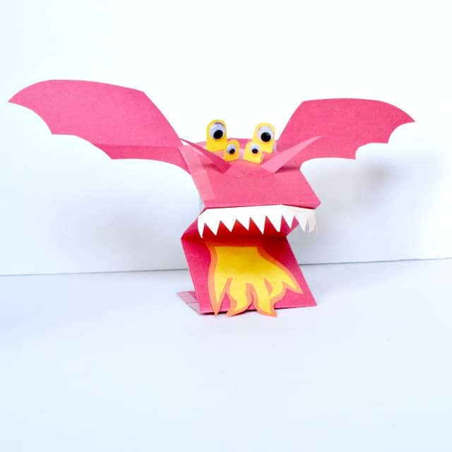 Dragon Puppet for Kids