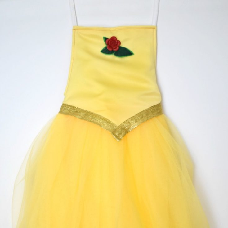 DIY a Belle costume for Halloween or dress up!
