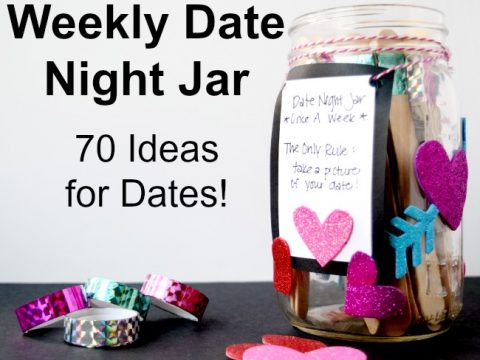 Weekly Date Night Jar 70 Free Date Night Jar Ideas