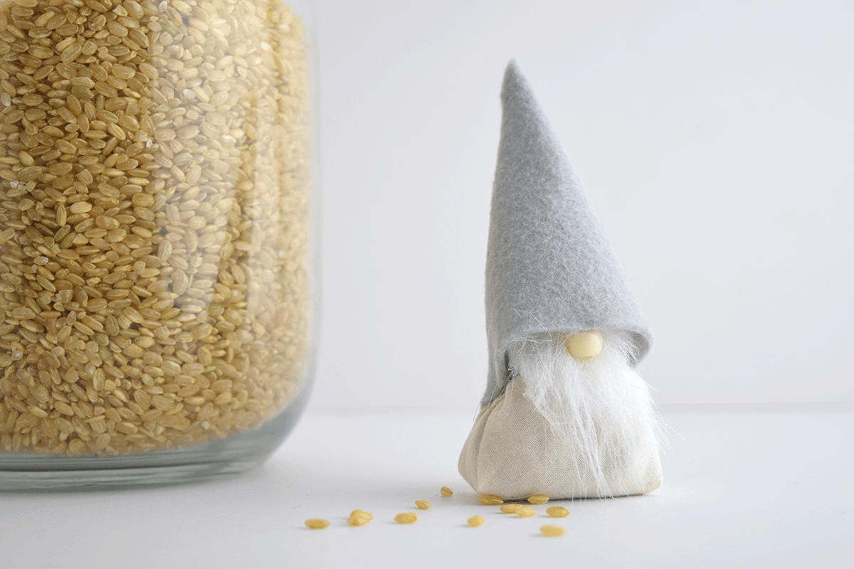 11 Glue on the Nose and Hat for Your DIY Christmas Gnome Tomte