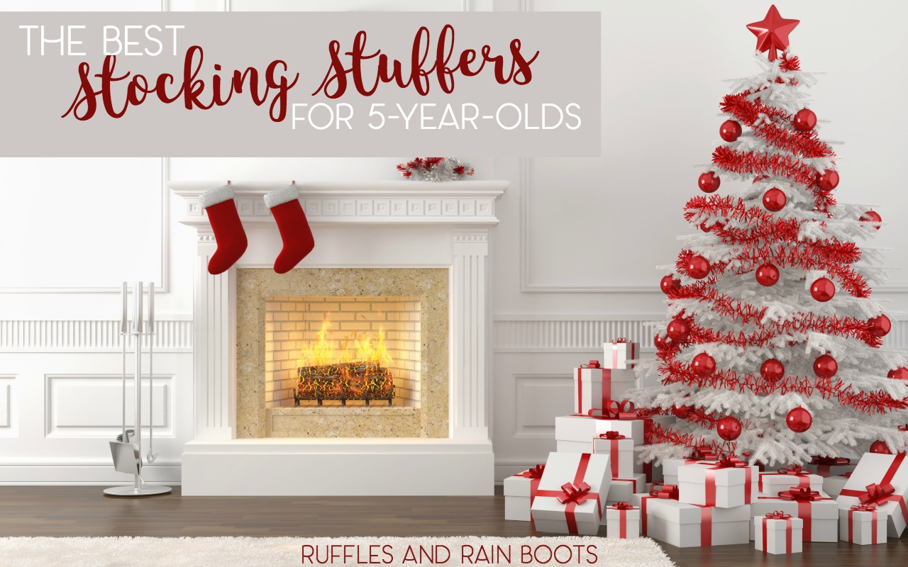 The best stocking stuffers for 5 year olds - make holiday shopping easy!