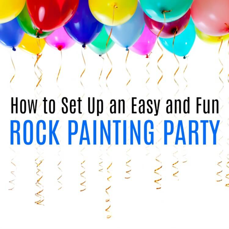 rock painting party ideas