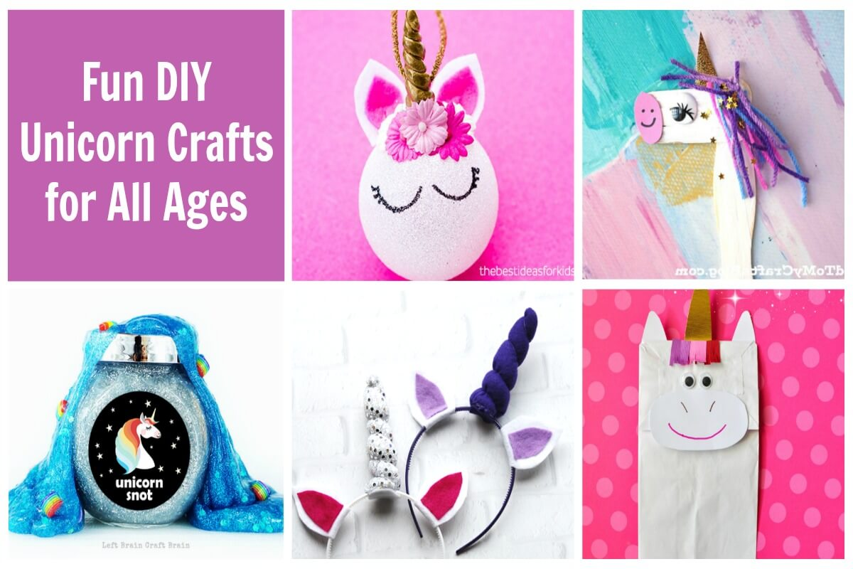 These are the most fun DIY unicorn crafts for unicorn lovers of all ages