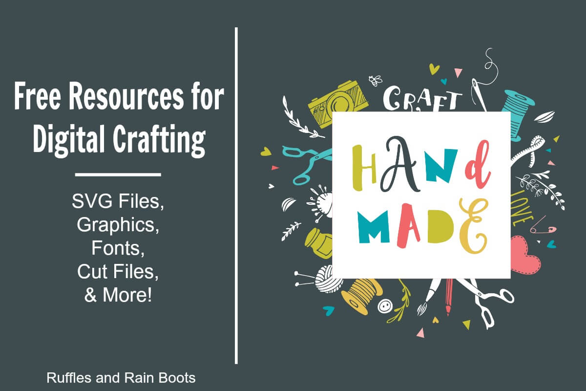 Free Digital Craft Supplies Free SVG Files Free Fonts