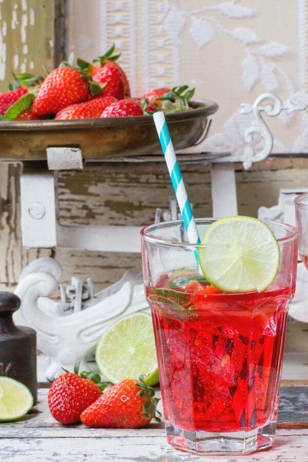 Sonic Copycat Recipe for a Strawberry Limeade