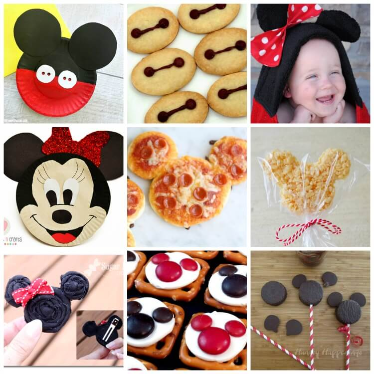 Mickey Mouse Crafts and Minnie Mouse Crafts