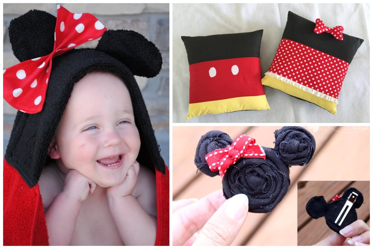 Minnie Mouse birthday party crafts