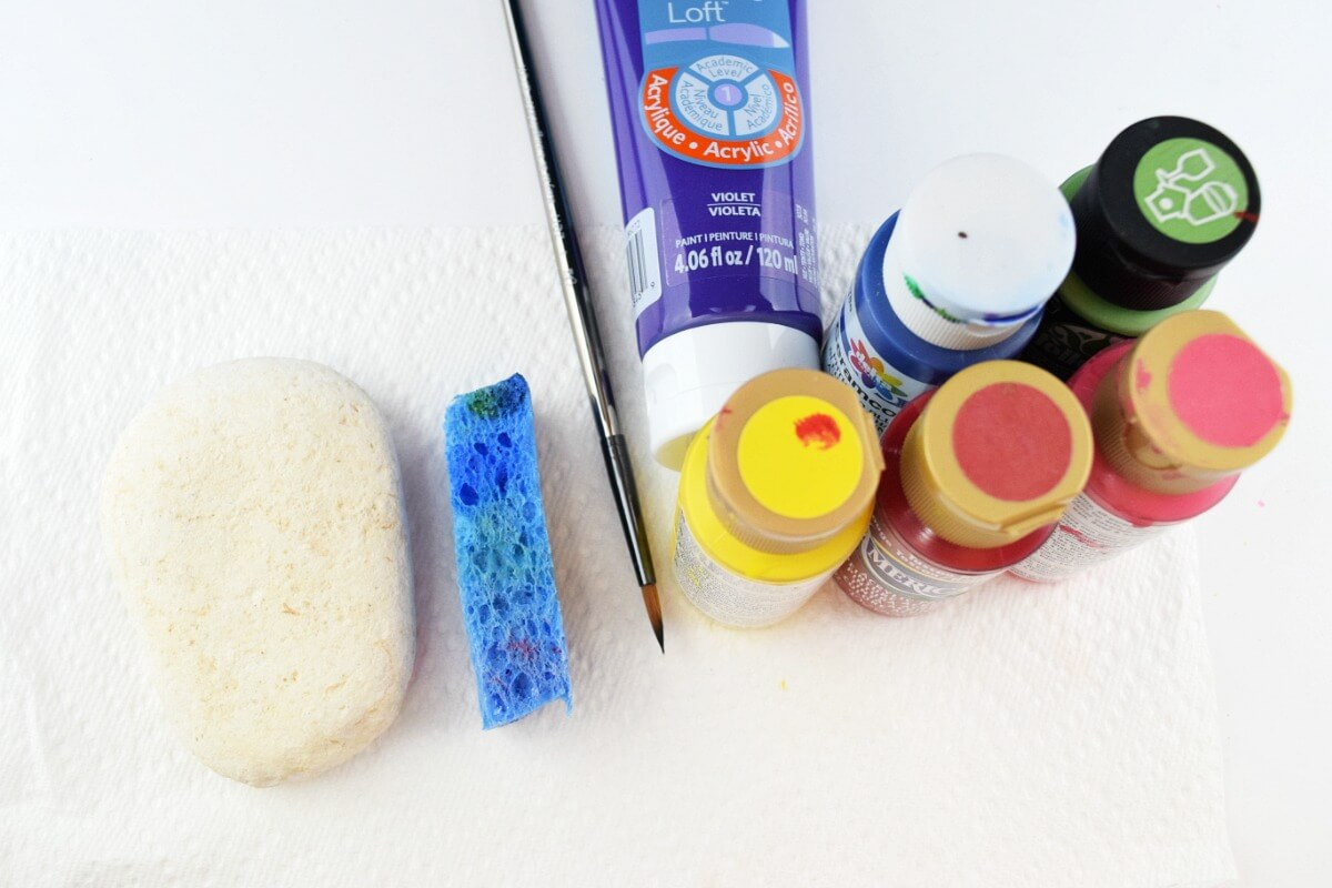supplies for rock painting for beginners
