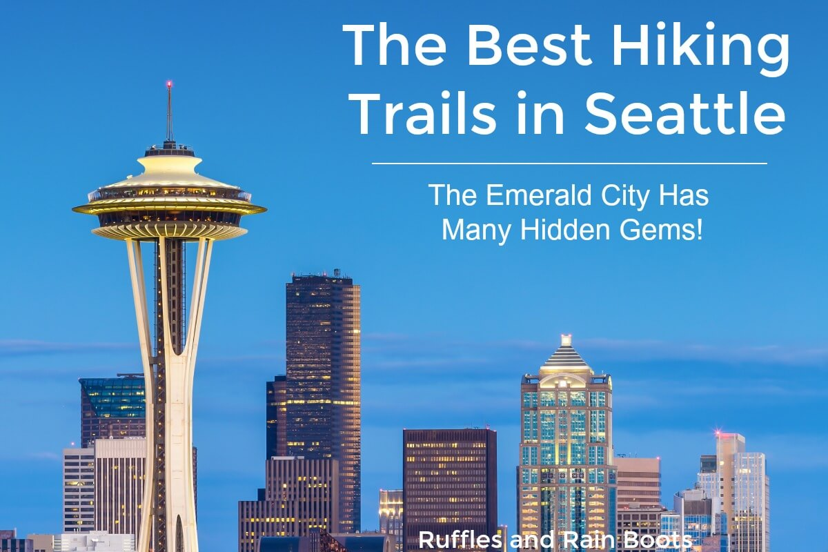 These are great hiking trails in Seattle for kids and families all year long
