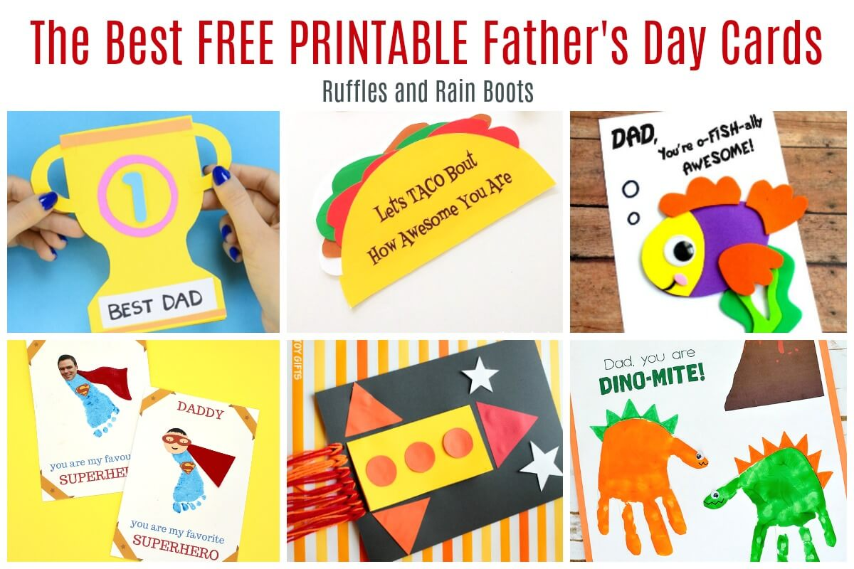 Free Personalize your own online father's day card and let your dad (or favorite father figures) know just how much you care. 12 Free Printable Father S Day Cards SVG, PNG, EPS, DXF File