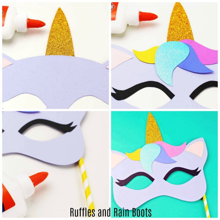 Unicorn Mask Template Unicorn Craft