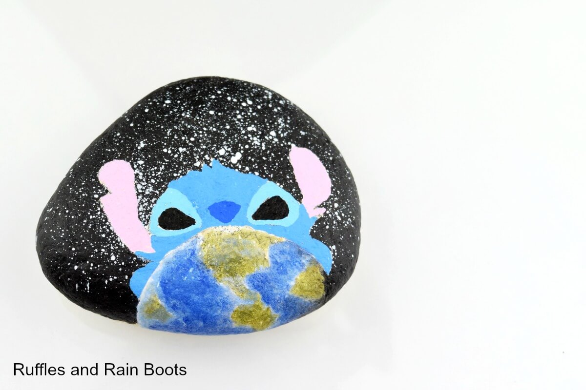How to paint the earth