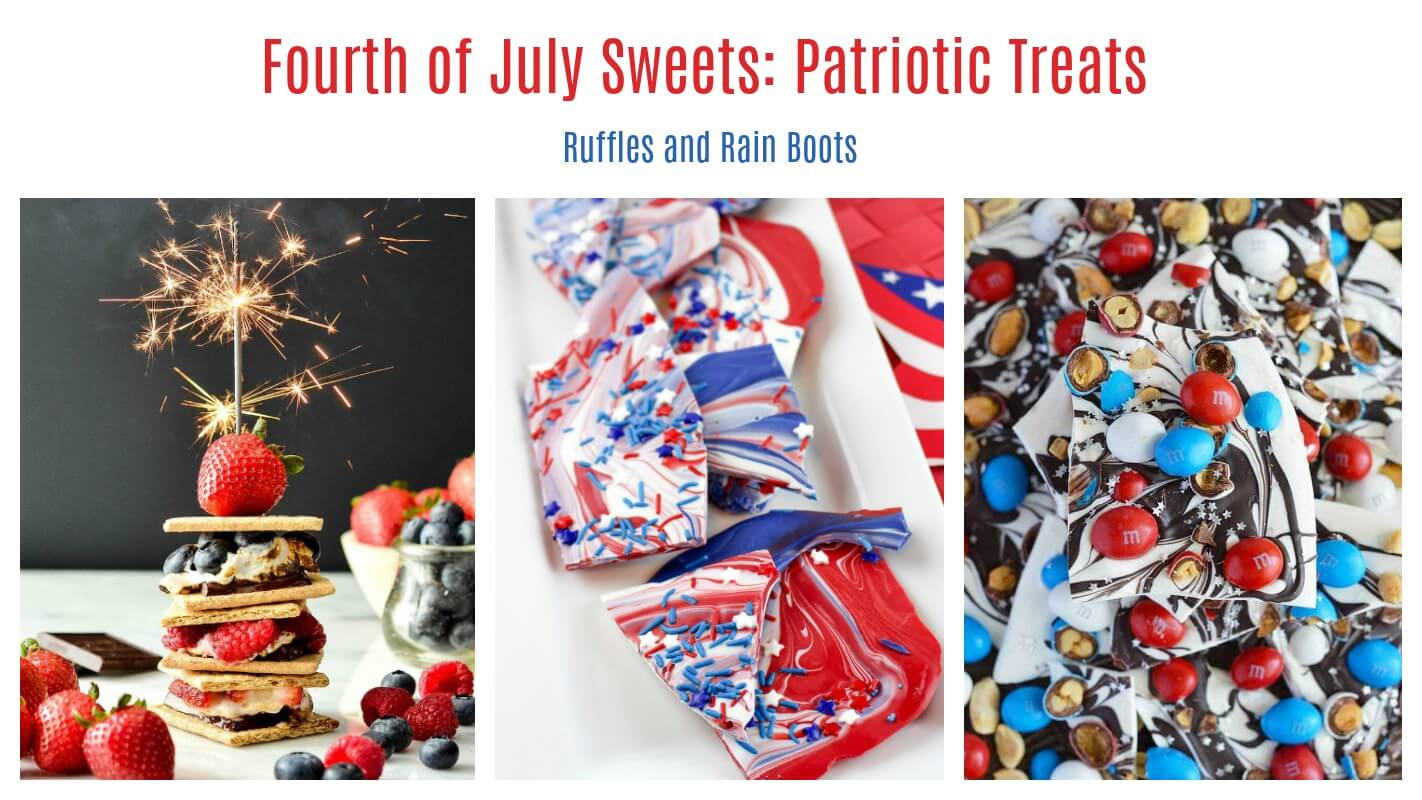 July 4th holiday Independence Day desserts