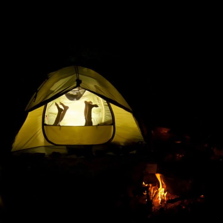 Camping Hacks When Camping with Kids
