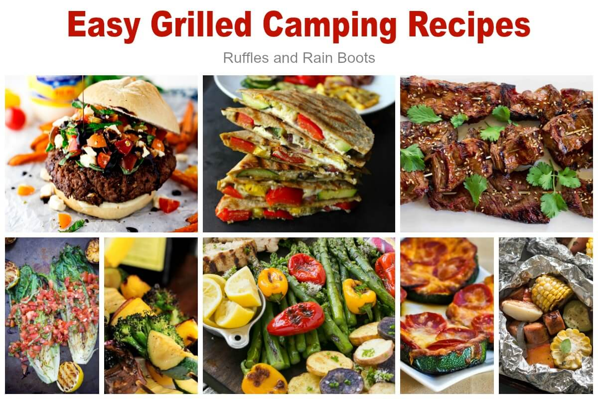 Easy Grilled Camping Meals Recipes