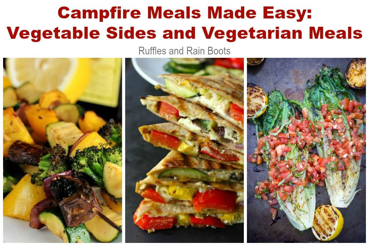 Vegetable Recipes for Camping Grilled Dinners