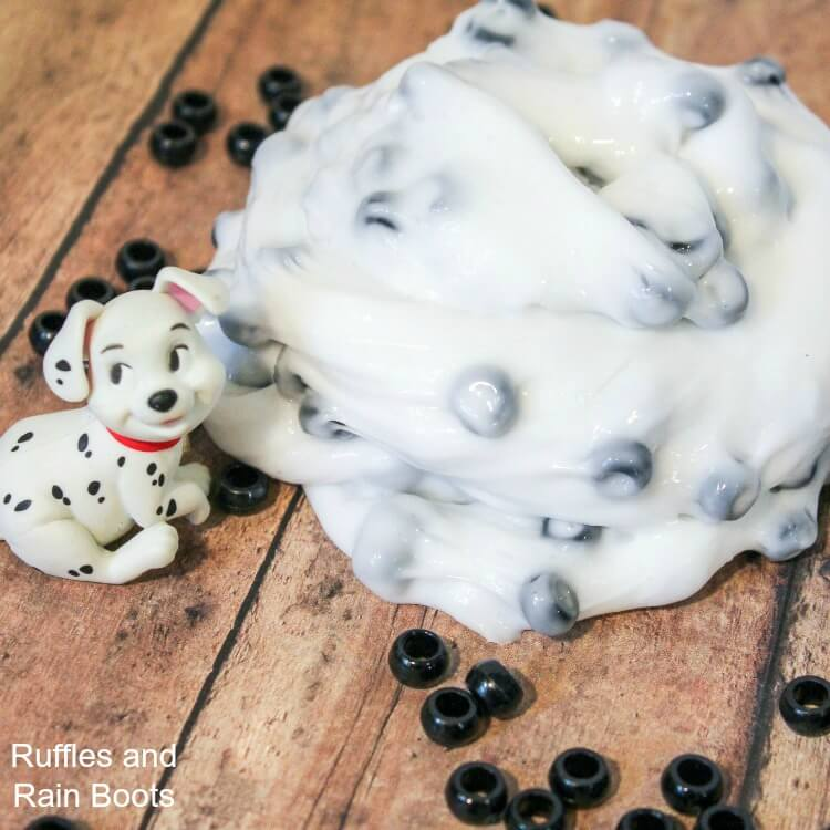 101 Dalmatians Slime – Adorable Fun for All Ages