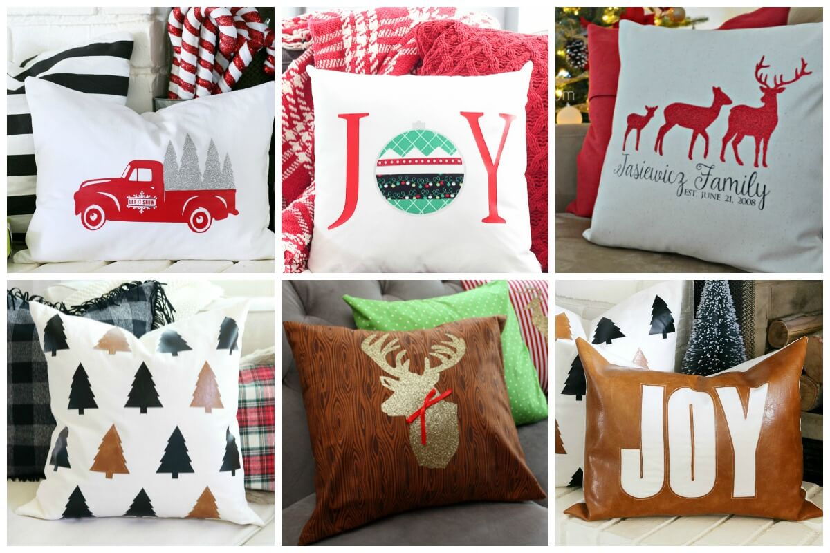 Christmas Pillow Projects for Cutting Machines