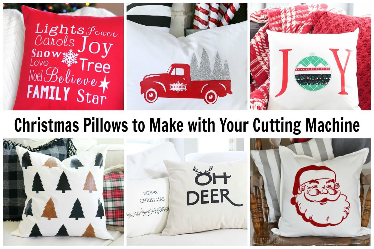 Cricut Christmas Pillow Projects Ideas For The Holiday Season