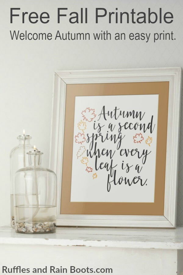 free fall printable farmhouse style - Get this free Autumn SVG and Fall hand lettering printable. You can even print it off completed and pop it in a frame. #freesvg #freefallprintable #freeprintable #falldecor #handlettering #moderncalligraphy #letteringpractice #practicesheets #ilovefall #digitalcrafts #freesvgfiles