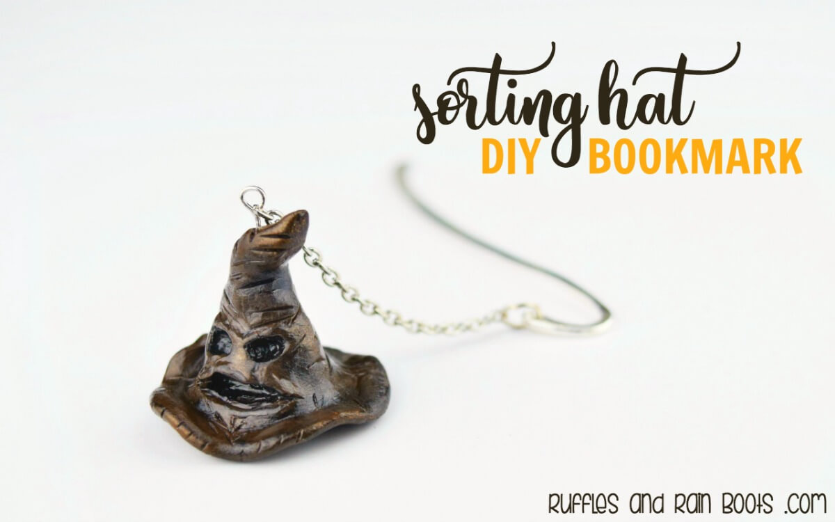 Harry Potter Craft - Sorting Hat Bookmark