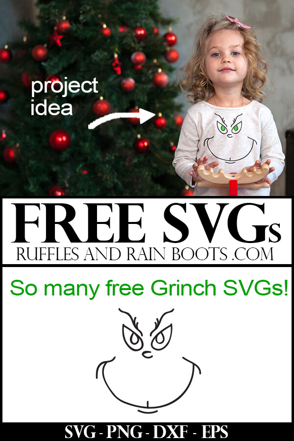 Free Grinch Face SVG Cut Files with project ideas