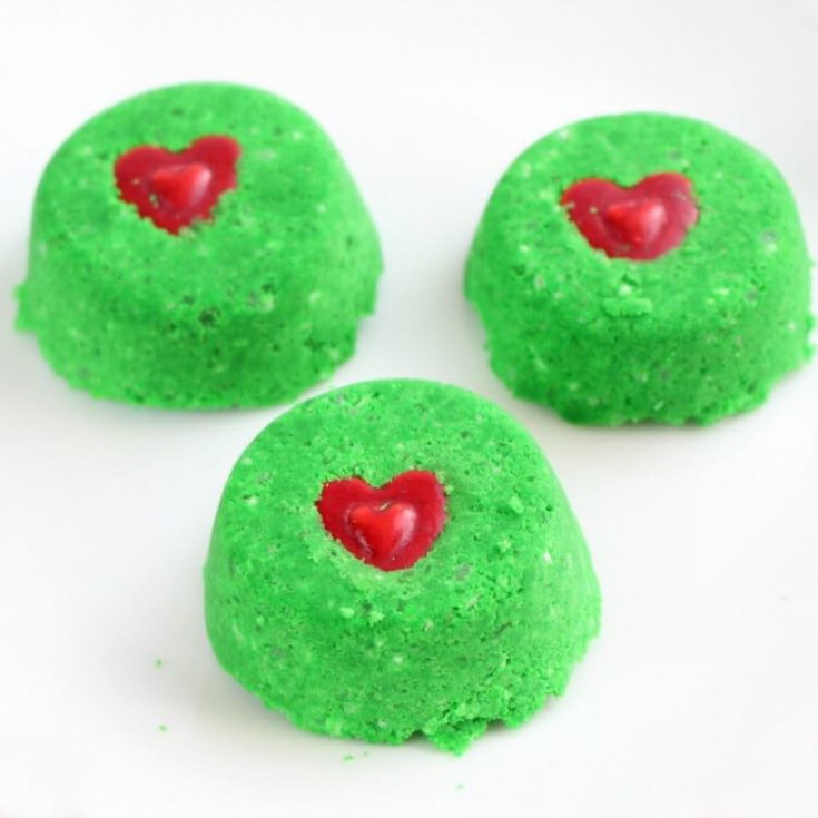 Grinch Christmas Shower Bombs