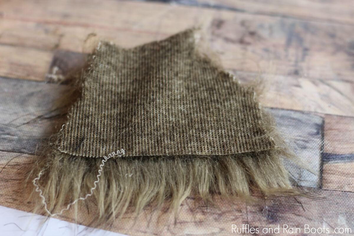 How to Cut Faux Fur to Make a Gnome Beard