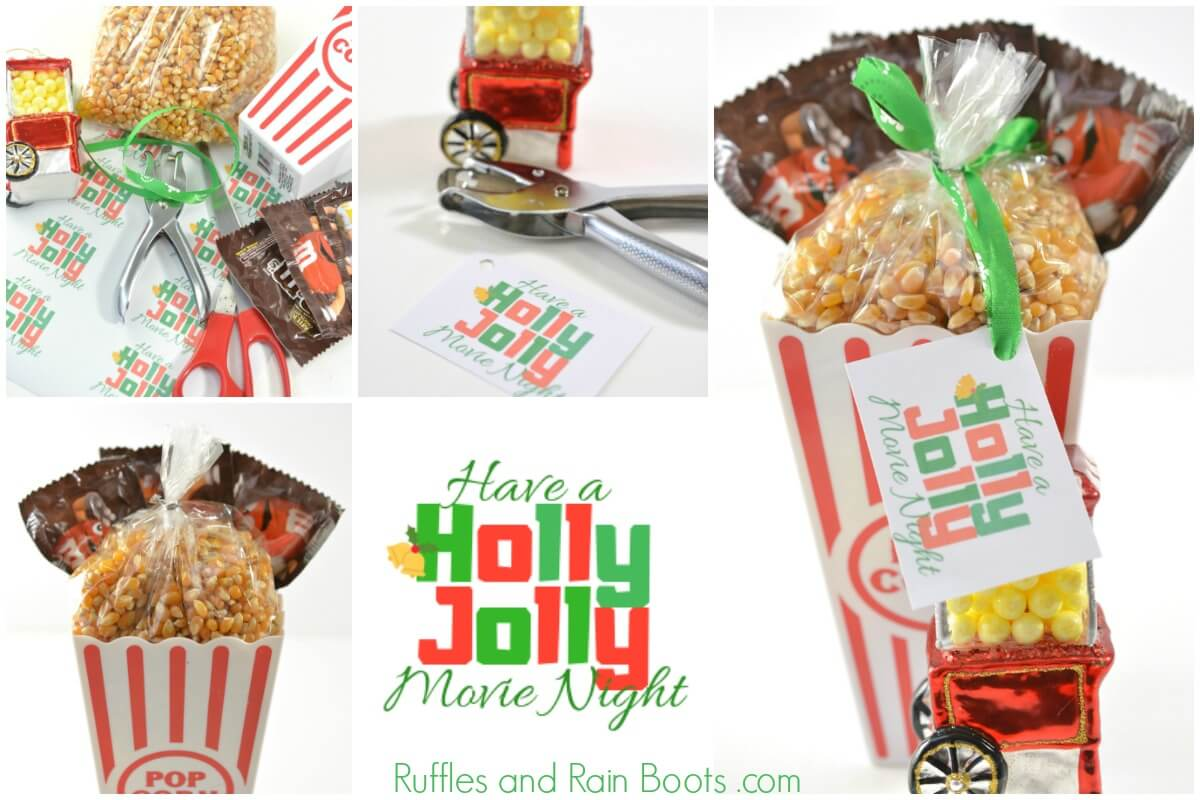 How to Make a movie night gift basket