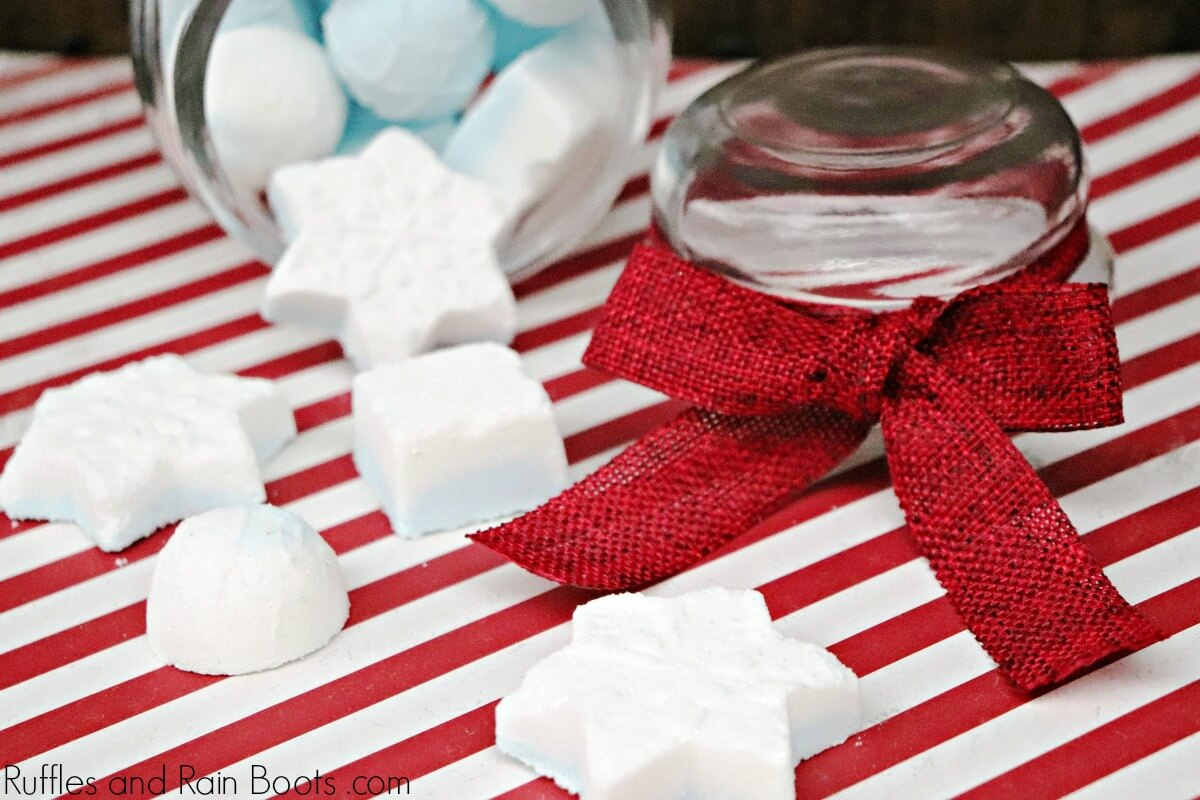 Winter Shower Melts recipe for cold relief