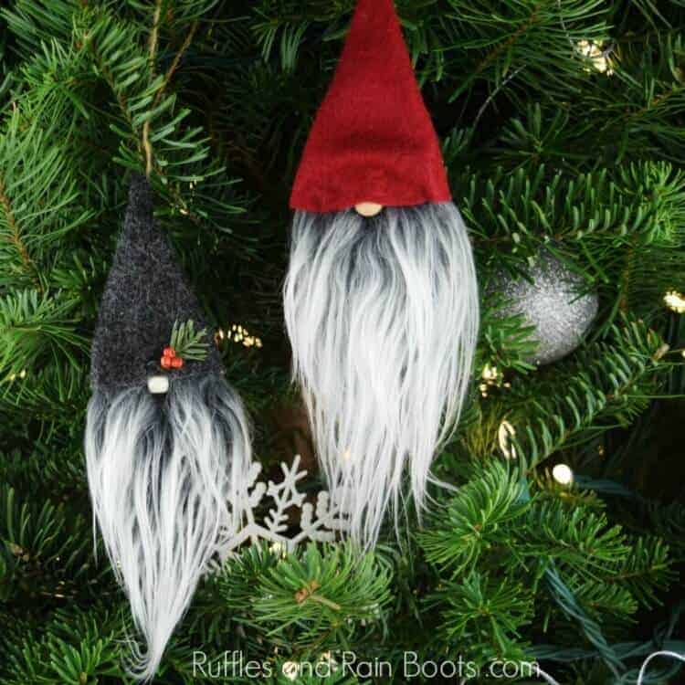 Christmas Gnome Ornaments