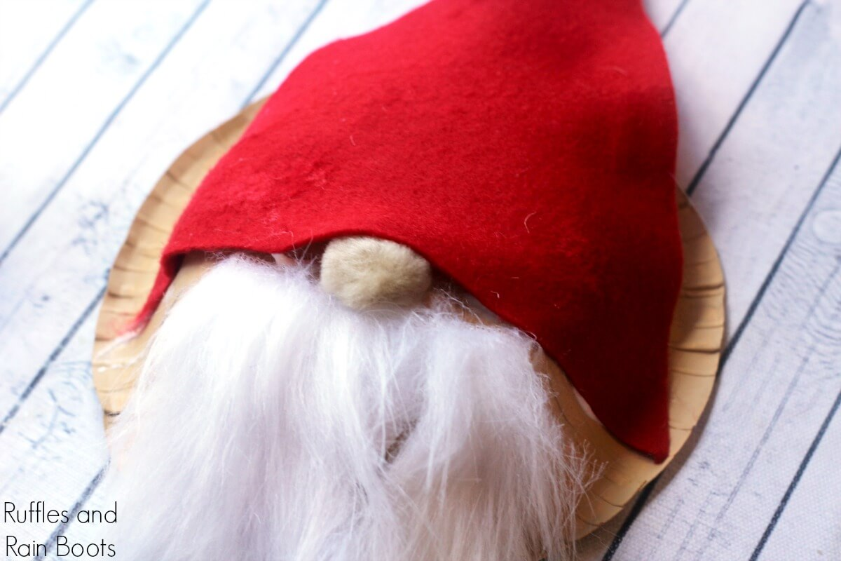 Paper Bowl Gnome Craft for Kids - Fun Christmas Craft
