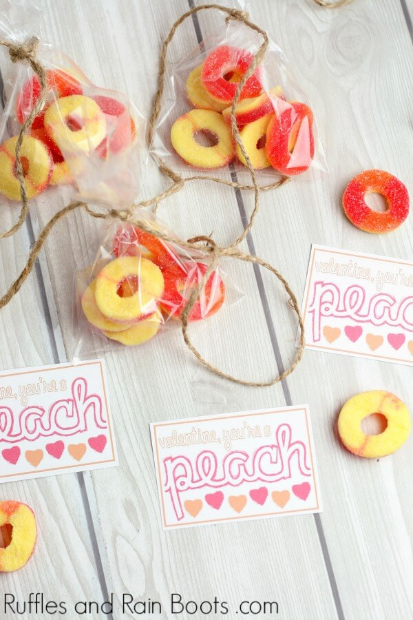 Candy Tag Printables - Ideas for Valentine's Day