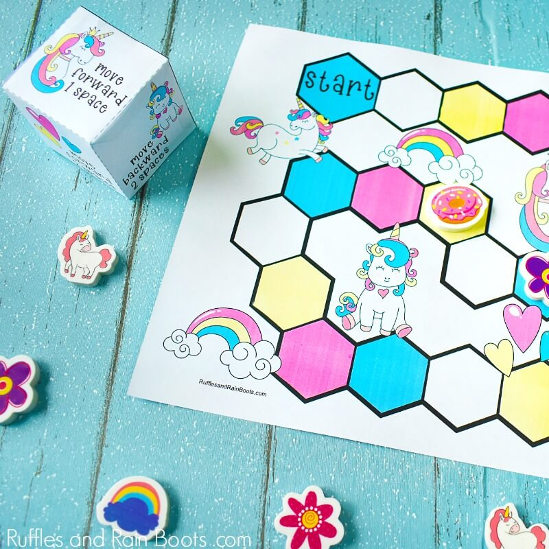 Free Printable Unicorn Game