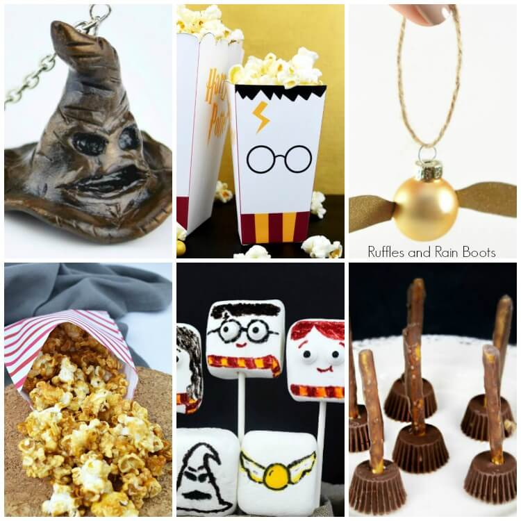 Harry Potter Food and Crafts for Movie Nights or Parties