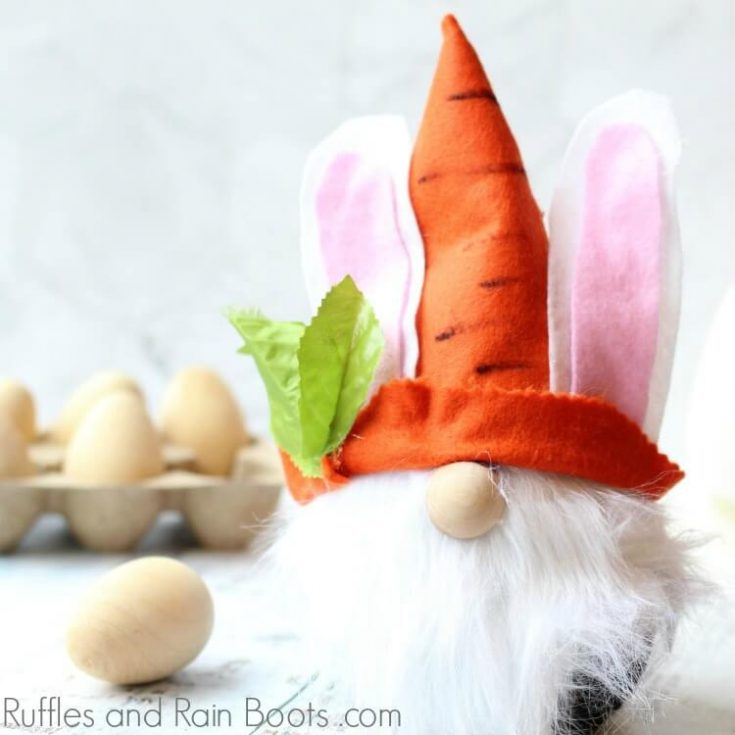 DIY Easter Bunny Gnome Tutorial