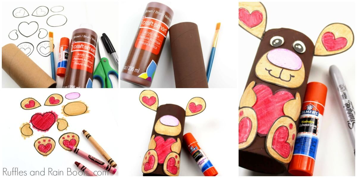 moose paper roll craft